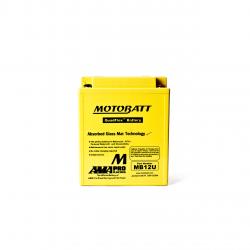 Batería Motobatt YB12AA,YB12ALA,YB12ALA2,YB12AB,YB12CA MOTOBATT MB12U-2