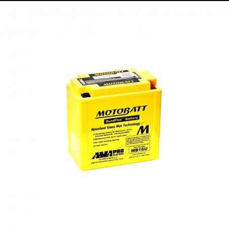 Batería Motobatt YB16BA-YB16BA2 MOTOBATT MB16U