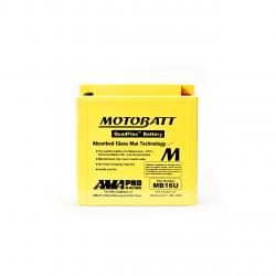 Batería Motobatt YB16BA-YB16BA2 MOTOBATT MB16U-2