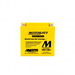 Batería Motobatt YT14BBS-YT14B4 MOTOBATT MBT14B4-2