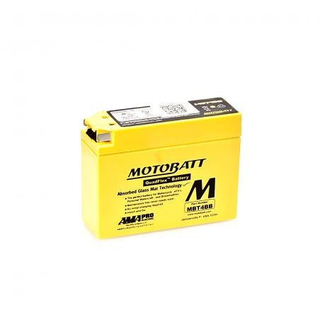 Batería Motobatt MOTOBATT MBT4BB