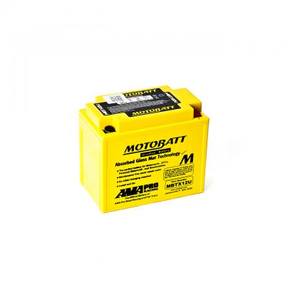 Batería Motobatt YTX12BS,YTX14BS,YTX14LBS,YTX14HBS,YTX15LBS,YB12BB2 MOTOBATT MBTX12U