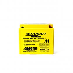 Batería Motobatt YTX12BS,YTX14BS,YTX14LBS,YTX14HBS,YTX15LBS,YB12BB2 MOTOBATT MBTX12U-2