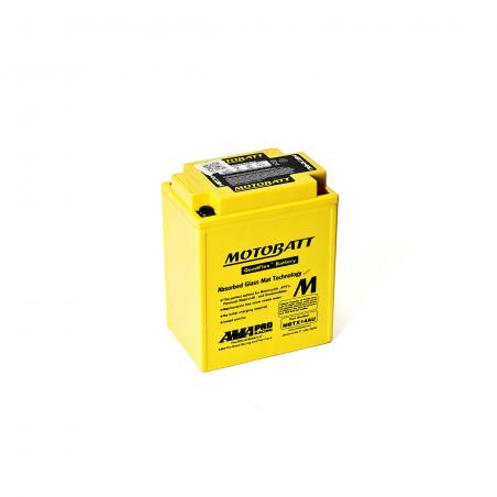 Batería Motobatt YTX14AHBS,YTX14AHLBS,YB14LA2,YB14LB2,YB14B2,YB14AA2 MOTOBATT MBTX14AU
