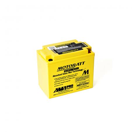 Batería Motobatt YTX20BS,YTX20LBS,YTX20HBS,YB16B,YB16LB,YB16CLB MOTOBATT MBTX20U