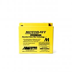 Batería Motobatt YTX20BS,YTX20LBS,YTX20HBS,YB16B,YB16LB,YB16CLB MOTOBATT MBTX20U-2