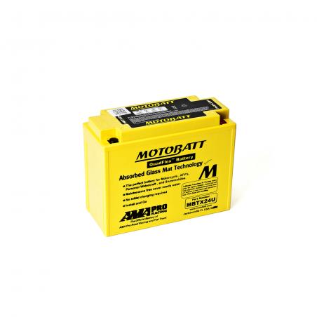 Batería Motobatt Y50N18LA-Y50N18AA-YTX24HLBS- MOTOBATT MBTX24U
