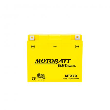 Batería Motobatt MOTOBATT MTX7D