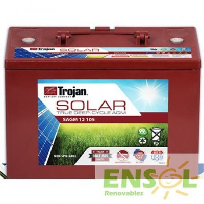 Batería Trojan TROJAN SAGM 12 105