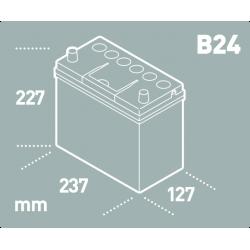 Batería Tudor TUDOR TB455-2