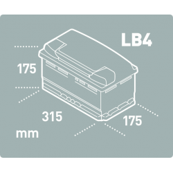 Batería Tudor TUDOR TB802-2