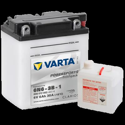 Batería Varta 6N6-3B-1 VARTA 006012003
