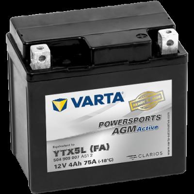 Batería Varta YTX5L-4 VARTA 504909007