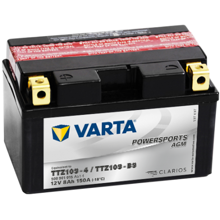 Batería Varta TTZ10S-4,TTZ10S-BS VARTA 508901015