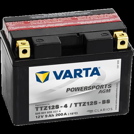 Batería Varta TTZ12S-4,TTZ12S-BS VARTA 509901020