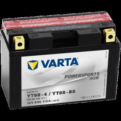 Batería Varta YT9B-4,YT9B-BS VARTA 509902008