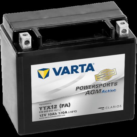 Batería Varta YTX12-4 VARTA 510909017