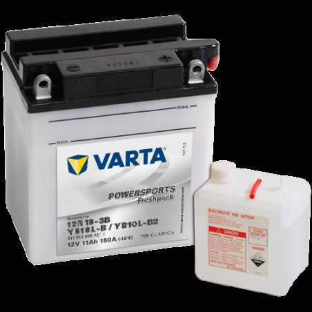Batería Varta 12N10-3B,YB10L-B,YB10L-B2 VARTA 511013009