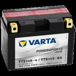 Batería Varta TTZ14S-4,TTZ14S-BS VARTA 511902023