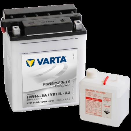 Batería Varta 12N14-3A,YB14L-A2 VARTA 514011014