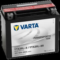 Batería Varta YTX20L-4,YTX20L-BS VARTA 518901026