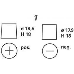 Batterie Varta VARTA C22-4