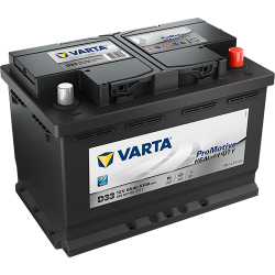 Batería Varta VARTA D33
