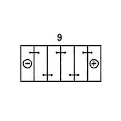 Batterie Varta VARTA H17-2