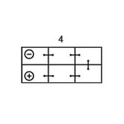 Batterie Varta VARTA I16-2