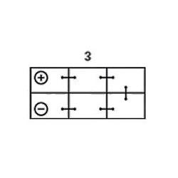 Batterie Varta VARTA LAD260-2