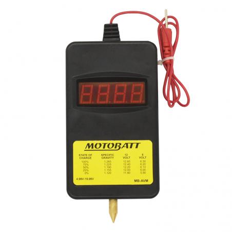 Comprobador de batería Motobatt MOTOBATT MB-AVM