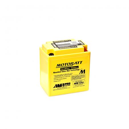 Batería Motobatt YB10AA2,YB10LA2,YB10LBP,YB10LB2 MOTOBATT MB10U