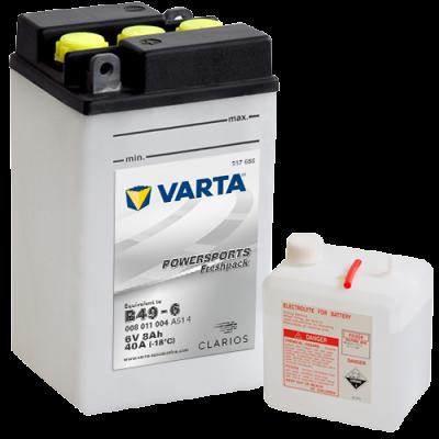 Batería Varta B49-6 (B49-6) VARTA 008011004
