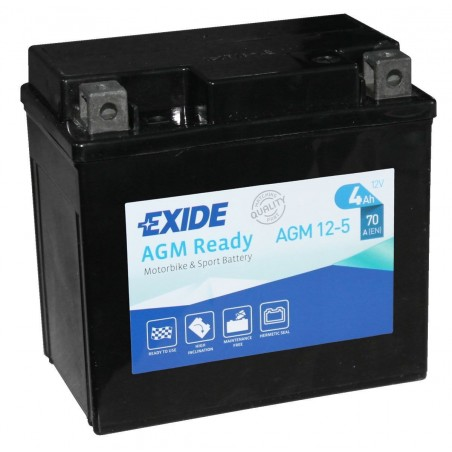 Batería Exide EXIDE AGM12-5