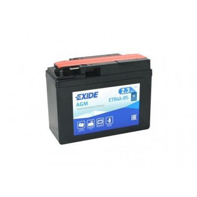 Batería Exide EXIDE ETR4A-BS