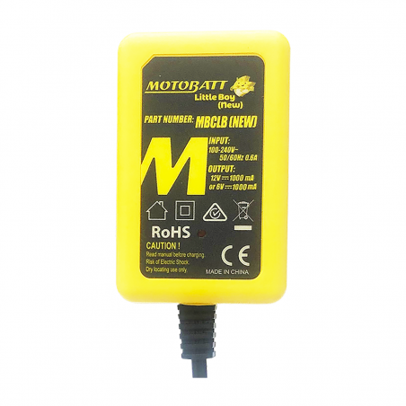 Ladegerät Motobatt MOTOBATT MBCCLB