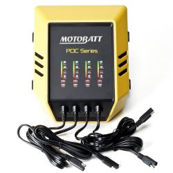 Cargador Motobatt MOTOBATT PDC4X2A-2