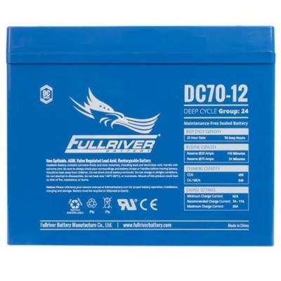 Bateria Fullriver FULLRIVER DC70-12