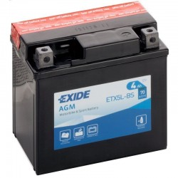 Batería Exide EXIDE ETX5L-BS EXIDE - 1