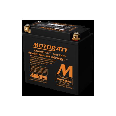 Batería Motobatt YTX14BS,YTX14LBS,YTX14HBS-GYZ16H MOTOBATT MBYZ16H MOTOBATT - 1